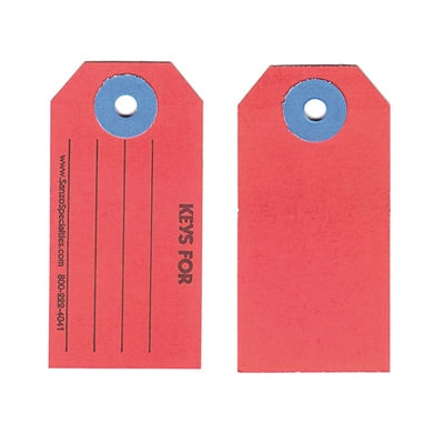 #1 Paper Key Tags with KEYS FOR Print- Qty 1000