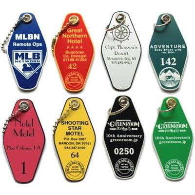Hotel / Motel Laser Engraved Key Tags