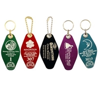 Hotel / Motel Metal Key Tags