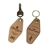 Hotel / Motel Leather Engraved Key Tags