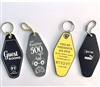 Hotel / Motel Laser Engraved 2x Thick 2 Sided Key Tags