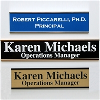 Personalized Door and Wall Nameplates