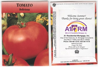 Tomato Personalized Seed Packets