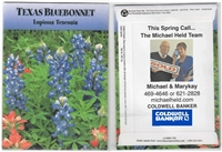 Texas Bluebonnet Personalized Seed Packets