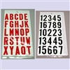 Vinyl Letter & Number Kits for Signs