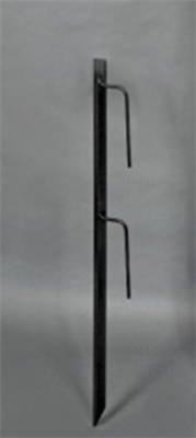 Angle Iron Stake for Vinyl Sign Post