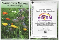 Wildflower Mixture Personalized Seed Packets