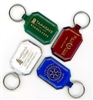 Gem Cut Key Tags