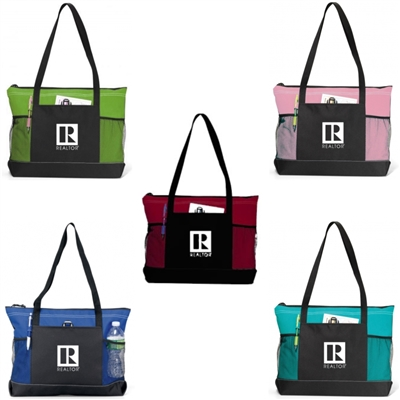 Realtor Zippered Tote Bag