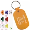 Soft Vinyl Oval Key Chains