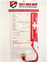 Do-It-Yourself (DIY) Tact-Med Emergency Information Card