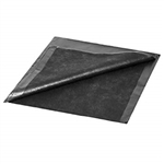 "Premium Black Drape Sheets 40""x90"" (Case of 50)"