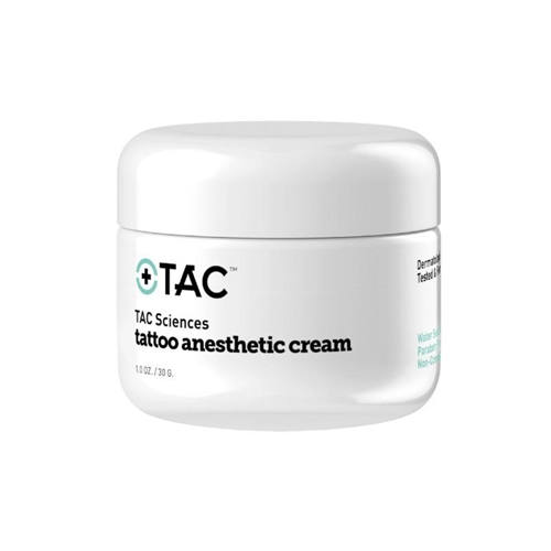 TAC Sciences Tattoo Anesthetic Cream (1 oz)