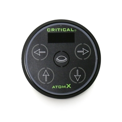 Critical ATOM X Digital Tattoo Power Supply (Black)