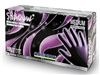 Shadow Black Nitrile Gloves By Adenna - X-Small