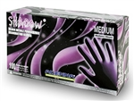 Shadow Black Nitrile Gloves By Adenna - Medium