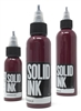 Solid Tattoo Ink - Bordeaux (1 oz)