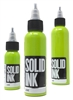 Solid Tattoo Ink - Lime (1 oz)