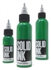 Solid Tattoo Ink - Medium Green (1 oz)
