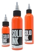 Solid Tattoo Ink - Orange (1 oz)