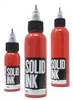 Solid Tattoo Ink - Red (1 oz)