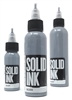 Solid Tattoo Ink - Silver (1 oz)