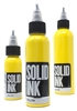 Solid Tattoo Ink - Yellow (1 oz)