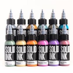 Solid Tattoo Ink - Art Deco Set (1 oz)