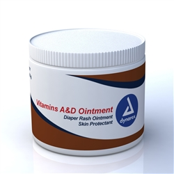 Vitamins A&D Ointment 15 Ounce Jar By Dynarex