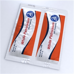White Petrolatum Packets By Dynarex (Box of 144)