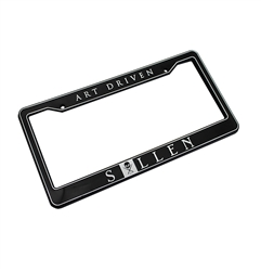 "Sullen ""Art Driven"" License Plate Frame"