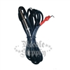 Black Silicone Clip Cord With Spring
