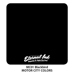 Eternal Blackbird Tattoo Ink 1 Ounce