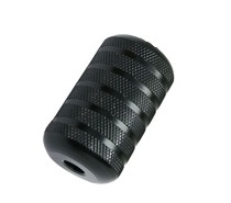 Black Alloy Tattoo Grip 1""