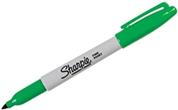 Green Sharpie Permanent Marker