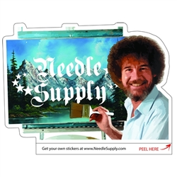 "Needle Supply ""BOB"" Sticker 5x3"""