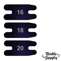 "5/8"" Blued Carbon Tattoo Machine Rear Springs - (16 Gauge)"