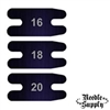 "5/8"" Blued Carbon Tattoo Machine Rear Springs - (18 Gauge)"