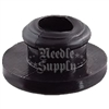 Black Rubber Half Grommet With Lip (Bag of 100)