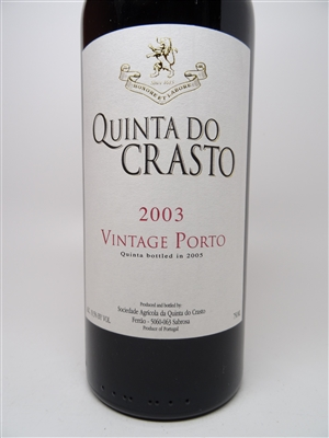 Quinta Do Crasto Porto 2003 750ml