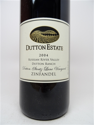 Dutton Estate. Russian River Valley Zinfandel 'Stoetz Lane' 2004 750ml