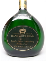 Wirsching, Hans. Riesling GG Iphofer 'Julius Echter' 2012 750ml