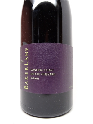 Baker Lane. Sonoma Coast Syrah 'Estate' 2010 750ml
