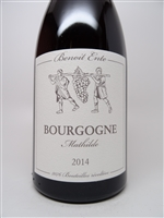 Ente, Benoit. Bourgogne Rouge 'Mathilde' 2014 750ml