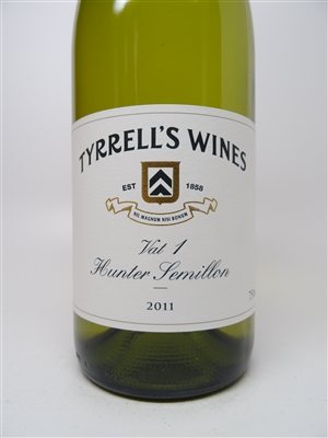 Tyrrell's. Hunter Valley Semillon 'Vat 1' 2011 750ml