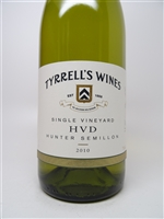 Tyrrell's. Hunter Valley Semillon 'HVD' 2010 750ml