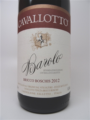 Cavallotto. Barolo Bricco Boschis 2012 750ml