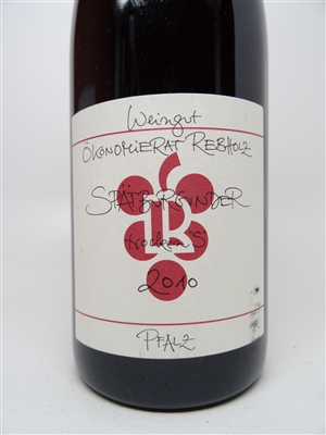 Rebholz. Pinot Noir 'Tradition' 2010 750ml