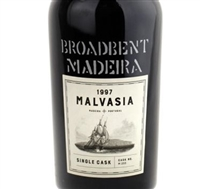 Broadbent. Madeira 'Single Cask' Malvasia #233 1997 750ml