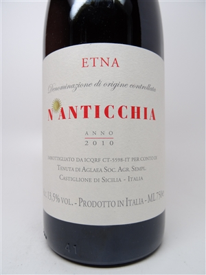 Aglaea. Etna DOC 'N'Anticchia' 2010 750ml